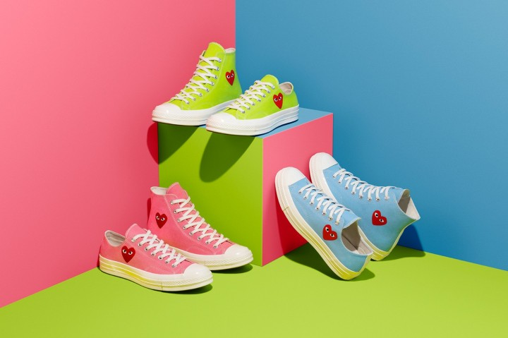 Spring on Your Feet with Converse x CDG